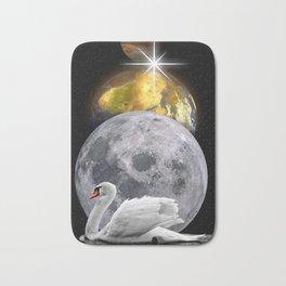Planets Swan by GEN Z Bath Mat