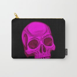 Skull - Magenta Carry-All Pouch