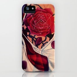 RoseHeart iPhone Case