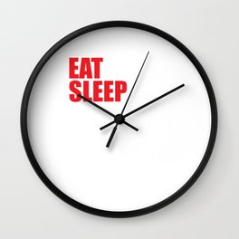 Eat Sleep Crossword Puzzle Repeat Puzzler Brain Teaser Thinking Strategy Game Gift Wall Clock