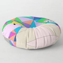 Axolotl & Quetzalcoatl Floor Pillow