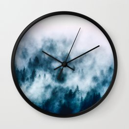 Out Of The Darkness Wall Clock