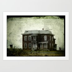 Farmhouse Art Print