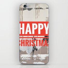 Snowfall - Happy Christmas iPhone Skin