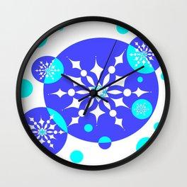 A Delightful Winter Snow Design Wall Clock
