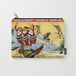 Circus The Flying Dillons Carry-All Pouch