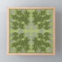 Kentia Palm Design Framed Mini Art Print