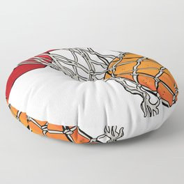 ball basket Floor Pillow