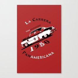 La Carrera Panamericana 1950 Cadillac Canvas Print