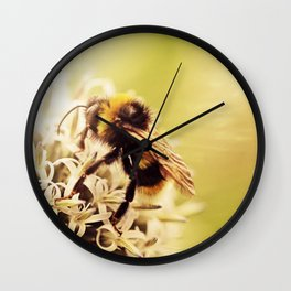 Love the bees! Wall Clock