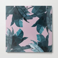 Tropical Palm Print #2 Metal Print