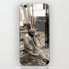 Art Philanthropist and Critic iPhone Skin