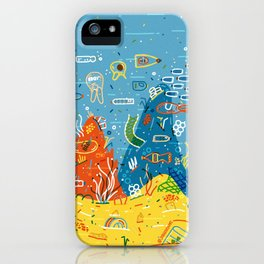 Plastic Sea iPhone Case