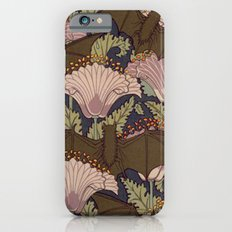 Vintage Art Deco Bat and Flowers iPhone 6s Slim Case