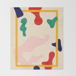Happy Little Pattern II. Throw Blanket
