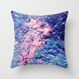 Kingdom of Ice Throw Pillow