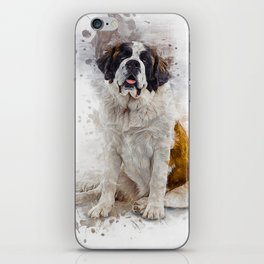 St Bernard iPhone Skin