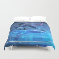 panther Duvet Covers featuring Panther Ride by VGPrints