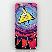 bill iPhone & iPod Skins featuring Bill by Dinolich