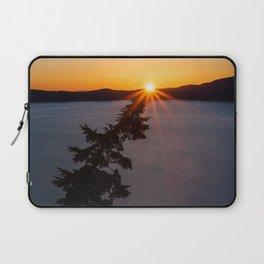 Sunset Tree Top Laptop Sleeve