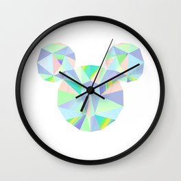 Pop Crystal Wall Clock