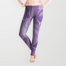 Ultra Violet Chambered Nautilus Leggings