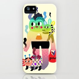 Fish man iPhone Case