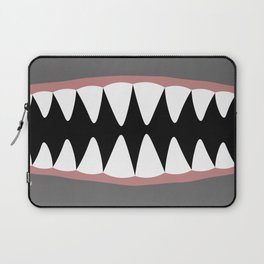 Shark Teeth, Monster, Dinosaur, Alien Laptop Sleeve