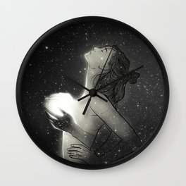 You bring the light to my darkness. Wall Clock