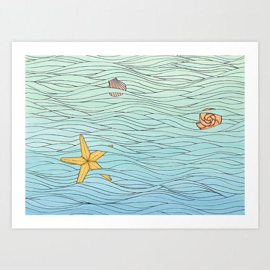 Simply Summer Art Print
