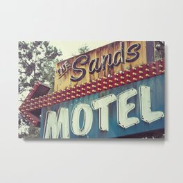 The Sands Metal Print