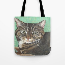 Maggie the Tabby cat Tote Bag