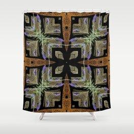 Patterned Lavender - Lavandula Shower Curtain
