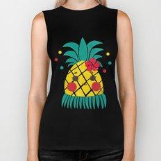 Miss Hawaiian Pineapple Biker Tank