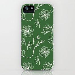 Quietly Christmas. iPhone Case