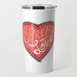 spread love heart Travel Mug