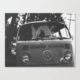 Old School Van Canvas Print