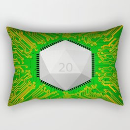 MMORPG Know Your Roots Rectangular Pillow