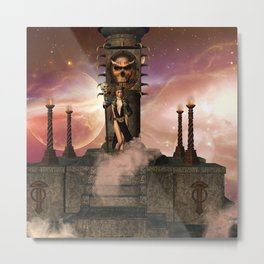 The  Totem place Metal Print
