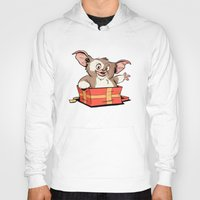 gizmo Hoodies featuring Gizmo Gift by The Drawbridge