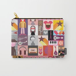 Pop-art collage Carry-All Pouch