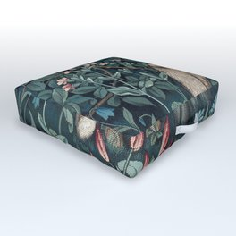 William Morris Forest Fox Tapestry Outdoor Floor Cushion