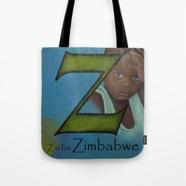 Z is for Zimbabwe Tote Bag