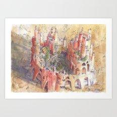 L'Oasi Art Print