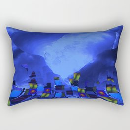 beneath the walls Rectangular Pillow