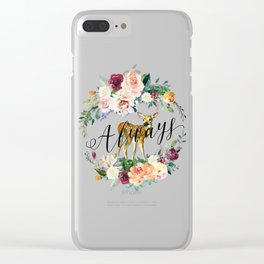 Always - Fawn Clear iPhone Case