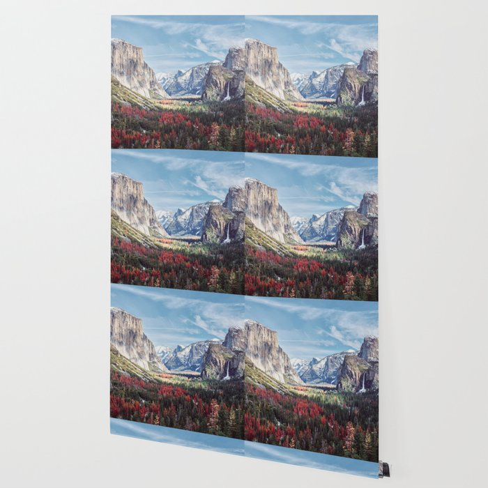 Tunnel View Yosemite Valley Wallpaper