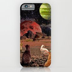 Space cats iPhone 6s Slim Case