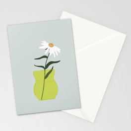 Vase no. 11 with Spring Daisy  Stationery Cards