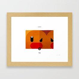 PKMNML #050 - 051 (EVOLUTION) DIG LETT - DUG TRIO Framed Art Print